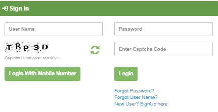 Tnesevai Citizen Login with Mobile Number