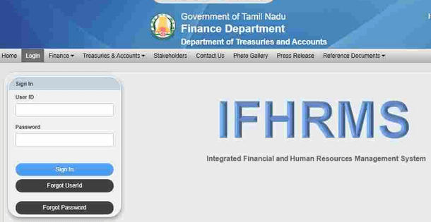 How to Login into Tamil Nadu IFHRMS Portal Online?